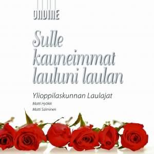 Choral Concert: YL Male Voice Choir - LINKOLA, J. / SCHUBERT, F. / GODZINSKY, G. / FOUGSTEDT, N. / LINDSTROM, E. (Sulle kauneimmat lauluni laulan)