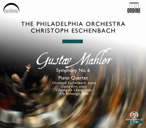 Mahler: Symphony No. 6 & Piano Quartet in one movement Product Image
