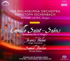 Saint-Saëns: Symphony No. 3 in C minor, Op. 78 'Organ Symphony', etc.