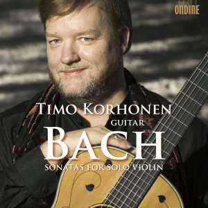 Bach - Violin Sonatas Nos. 1-3 (arranged for guitar)