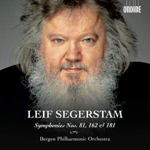 Leif Segerstam: Symphonies Nos. 81, 162 & 181 Product Image