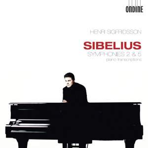 Sibelius: Symphonies Nos. 2 & 5 (transcribed for solo piano) Product Image