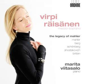 Vocal Recital: Raisanen, Virpi - MAHLER, G. / BERG, A. / SCHOENBERG, A. / SHOSTAKOVICH, D. / BRITTEN, B. (The Legacy of Mahler)