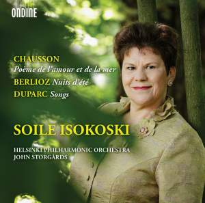 Soile Isokoski sings Chausson, Berlioz & Duparc