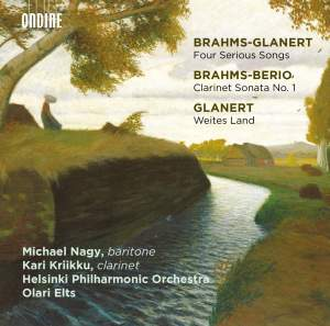 Brahms-Glanert: Four Serious Songs Product Image