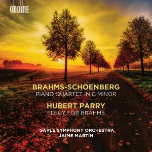 Brahms: Piano Quartet in G Minor (orch. Schoenberg) Product Image