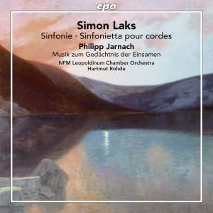 Laks & Jarnach - Works for String Orchestra