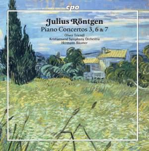 Julius Röntgen: Piano Concertos 3, 6 & 7 Product Image