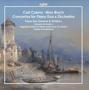 Carl Czerny & Max Bruch: Concertos for Piano Duo & Orchestra