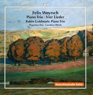 Woyrsch: Piano Trio in E Minor & 4 Lieder & Goldmark: Piano Trio in D Minor