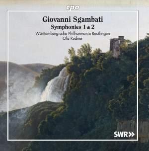 Sgambati: Symphonies Nos. 1 & 2 Product Image