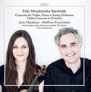 Mendelssohn: Concerto for Violin, Piano & String Orchestra