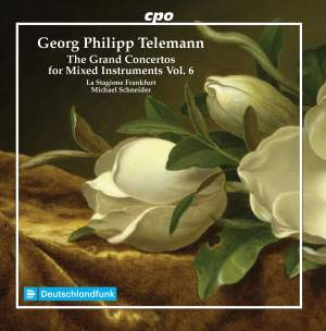 Telemann: The Grand Concertos for Mixed Instruments Vol. 6 Product Image