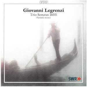 Legrenzi: Sonate a due, e tre Op. 2 1655 (Trio Sonatas)