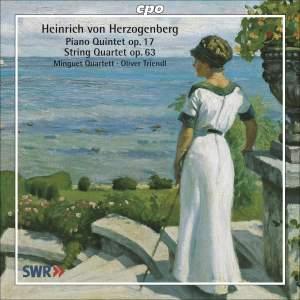 Herzogenberg - Complete String Quartets Volume 1