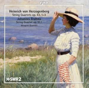 Herzogenberg & Brahms: String Quartets