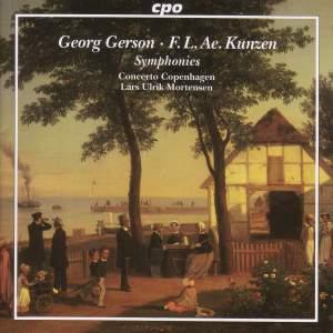 Georg Gerson, F L Ae Kunzen: Symphonies