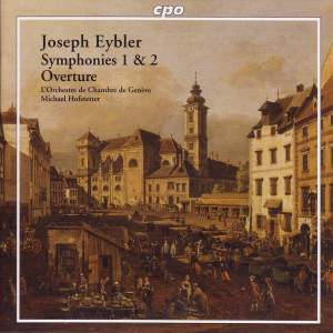 Eybler: Symphonies Nos. 1 & 2 and Overture