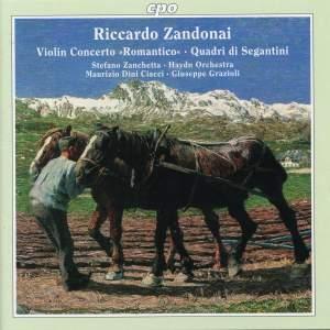 Zandonai: Violin Concerto Romantico, etc.