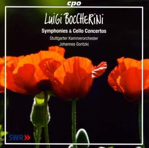 Boccherini - Symphonies & Cello Concertos