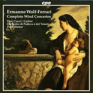Wolf-Ferrari - Complete Wind Concertos
