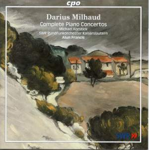 Milhaud - Complete Piano Concertos