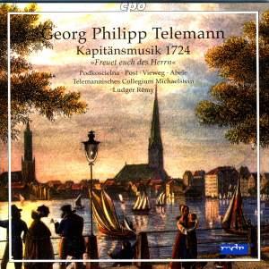 Telemann: Kapitänsmusik 1724