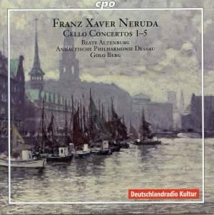 Neruda, F: Cello Concertos 1-5