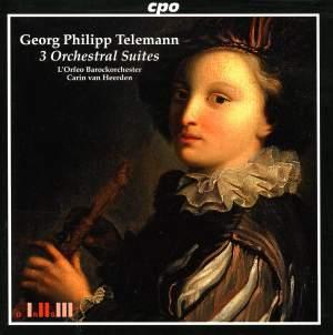 Telemann - 3 Orchestral Suites
