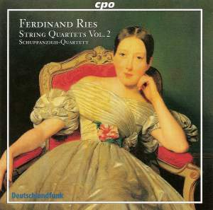 Ferdinand Ries - String Quartets Volume 2 Product Image