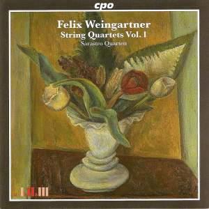Weingartner: String Quartets Volume 1