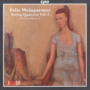 Weingartner: String Quartets Volume 2
