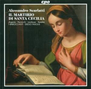 Scarlatti, A: Il martirio di Santa Cecilia