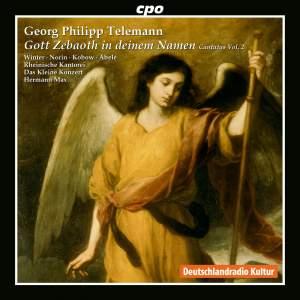 Telemann: Cantatas Vol. 2