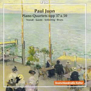 Juon - The Piano Quartets