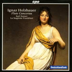 Holzbauer - Concerti for Transverse Flute & String Orchestra