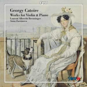 Catoire - Works for Violin & Piano