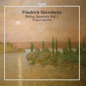 Gernsheim: String Quartets Product Image