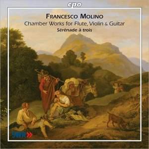 Molino - Chamber Works for Flute, Violin & Guitar