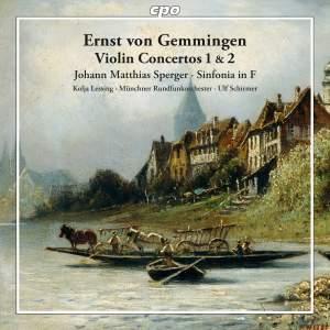 Gemmingen: Violin Concertos Nos. 1 & 2