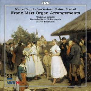 Franz Liszt Organ Arrangements Product Image