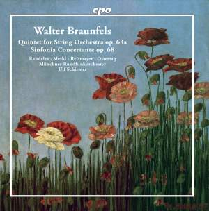 Braunfels: Quintet For String Orchestra Product Image