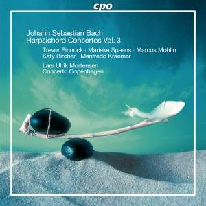 Bach - Harpsichord Concertos Volume 3 Product Image