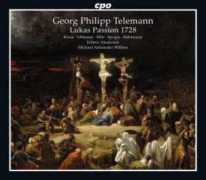 Telemann: St Luke Passion, TWV 5:33