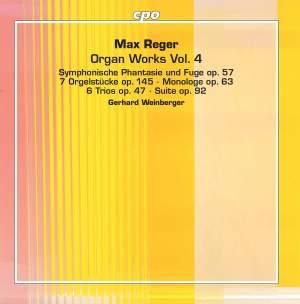 Reger: Organ Works, Vol. 4