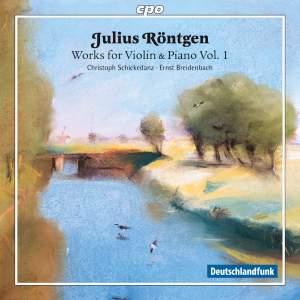 Röntgen: Works for Violin & Piano Vol. 1