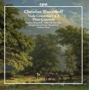 Westerhoff: Viola Concertos 1 & 3 & Flute Concerto