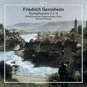 Gernsheim: Symphonies Nos. 2 & 4