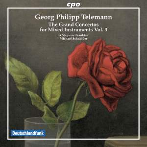 Telemann: The Grand Concertos for Mixed Instruments, Vol. 3 Product Image