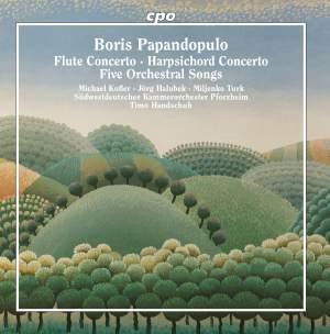 Papandopulo: Flute & Harpsichord Concertos